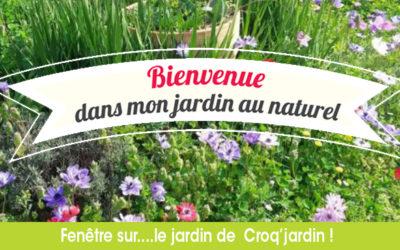 Bienvenue dans mon jardin au naturel…Chez Croq' Jardin !