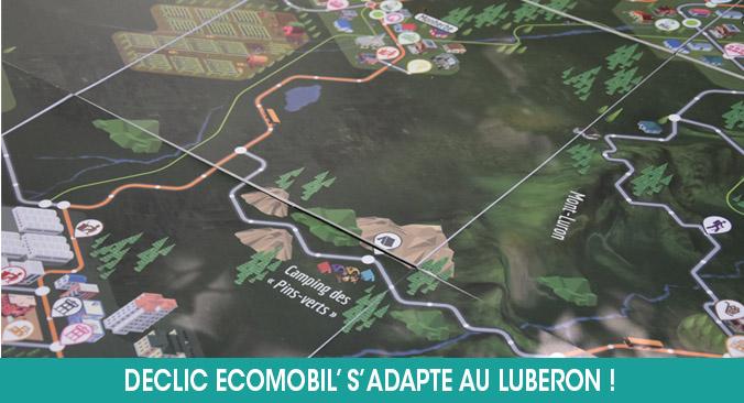 Déclic Ecomobil' adapté au Parc Naturel Régional du Luberon