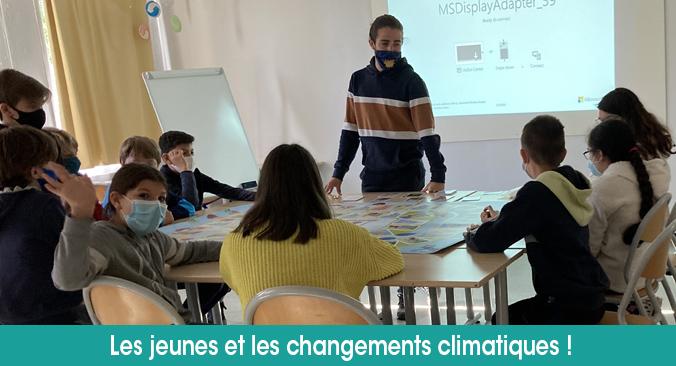 Les jeunes face aux changements climatiques