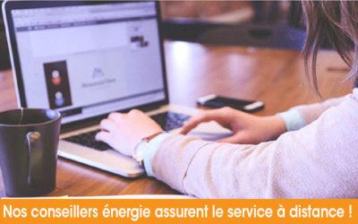 Nos conseillers énergie à votre écoute !