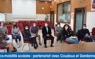 Ecomobilité scolaire : les conventions de partenariats ont été signées avec Gardanne et Coudoux