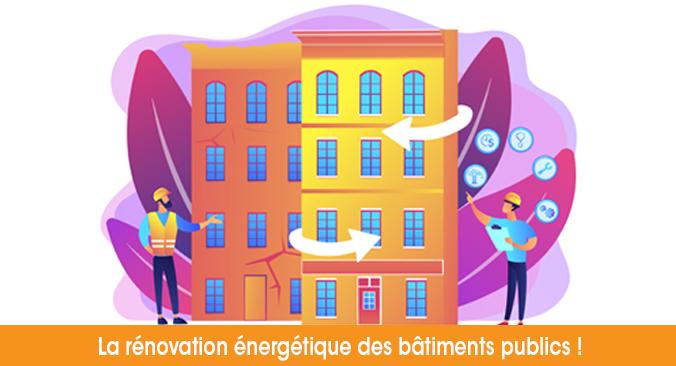 Nos économes de flux pour faire avancer la rénovation énergétique des bâtiments publics !