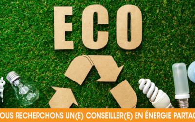 Poste à pourvoir dans le conseil en économies d'énergie !