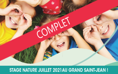 Stage nature complet !