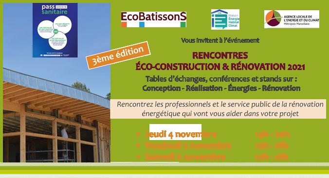Les rencontres de l'éco-construction et de la rénovation